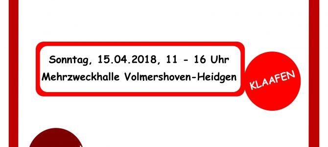 Frauenflohmarkt am 15.04.2018